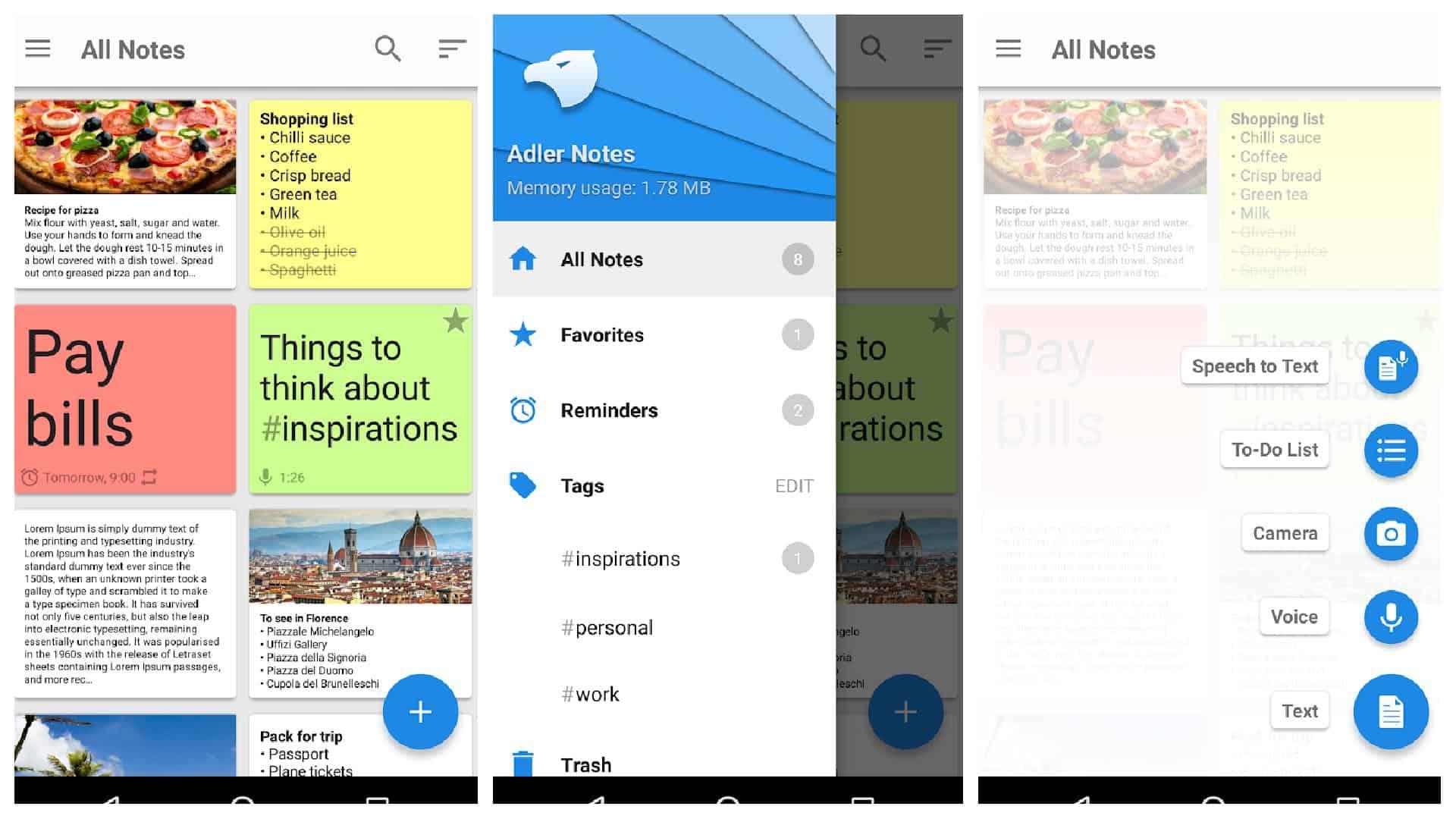 Notepad app grid 1