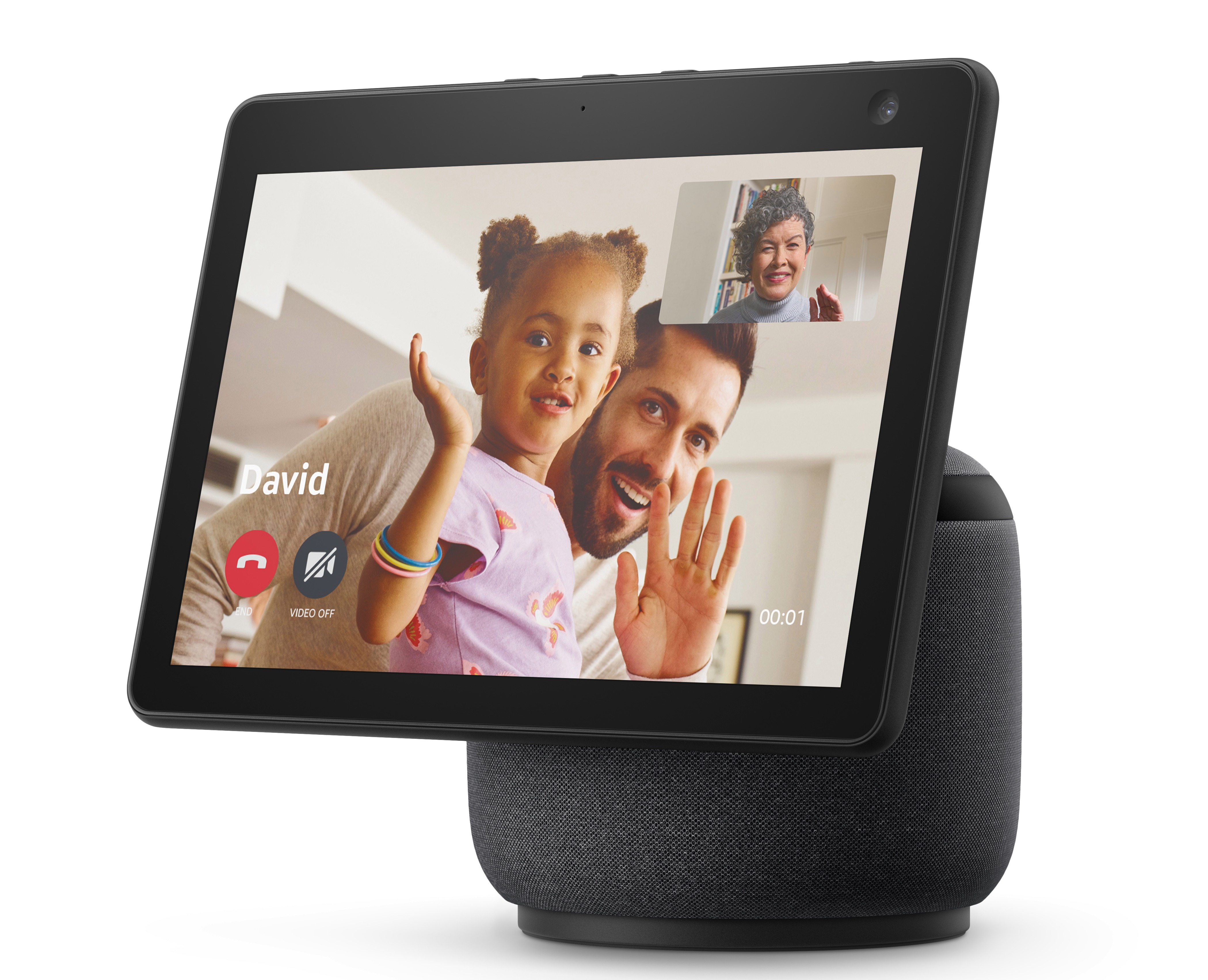 The Echo Show series is Alexa-enabled and includes a display and camera
