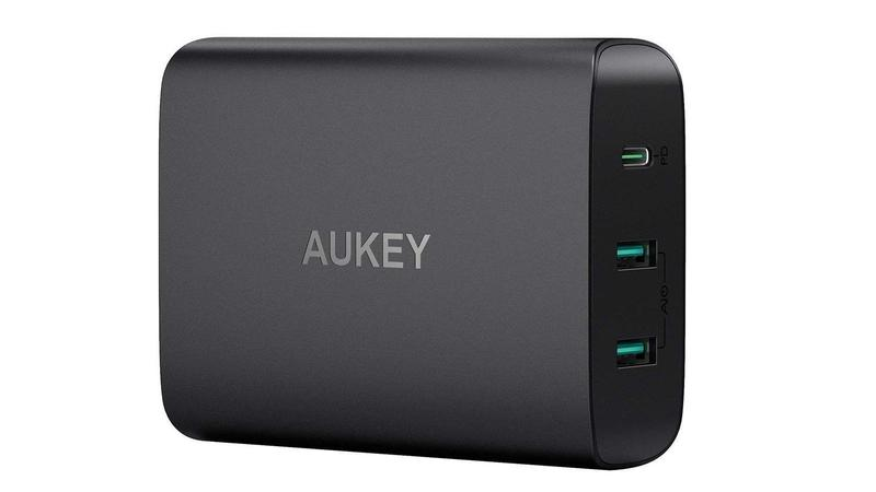 Aukey 72W USB-C Desktop Charging Station with Power Delivery