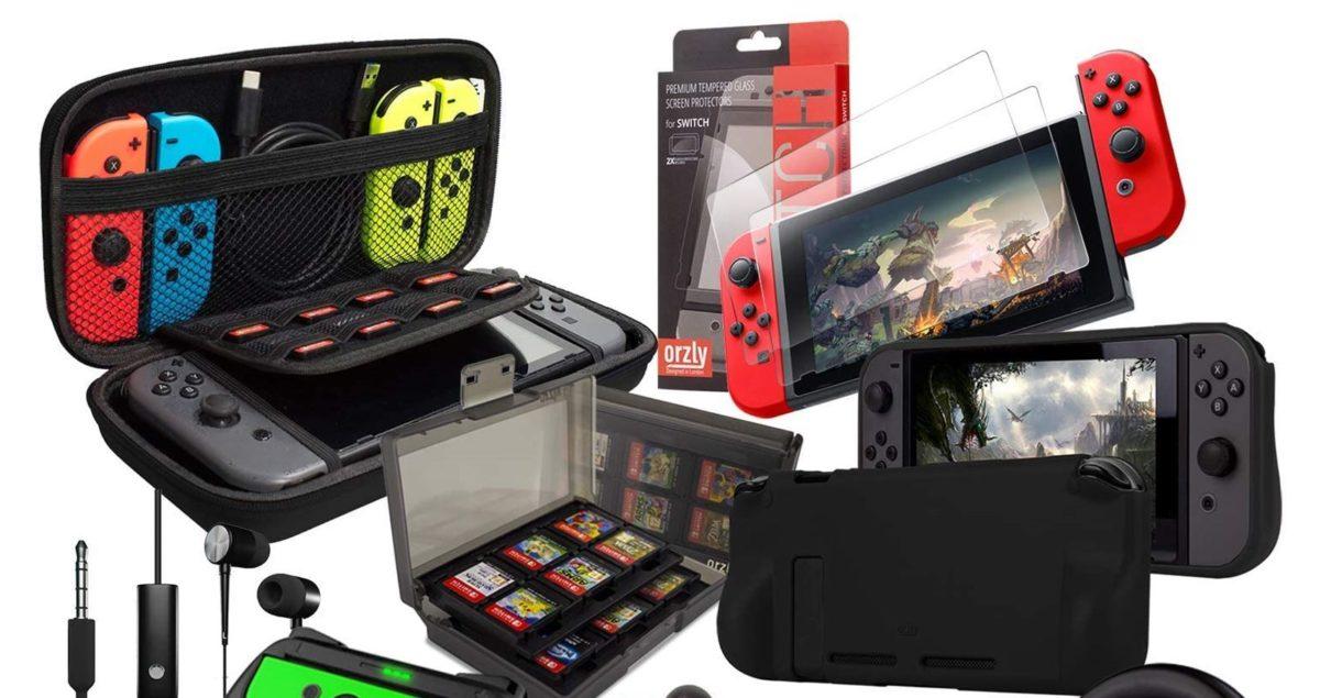 Switch Accessories Bundle Press Image