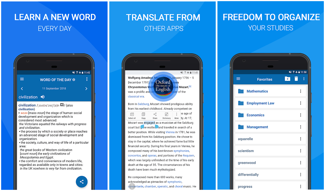 oxford dictionary-best-android-apps