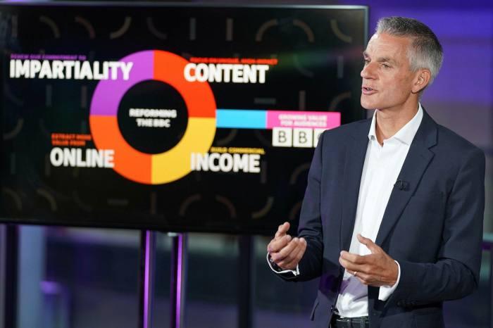 Tim Davie, the BBC's new director-general