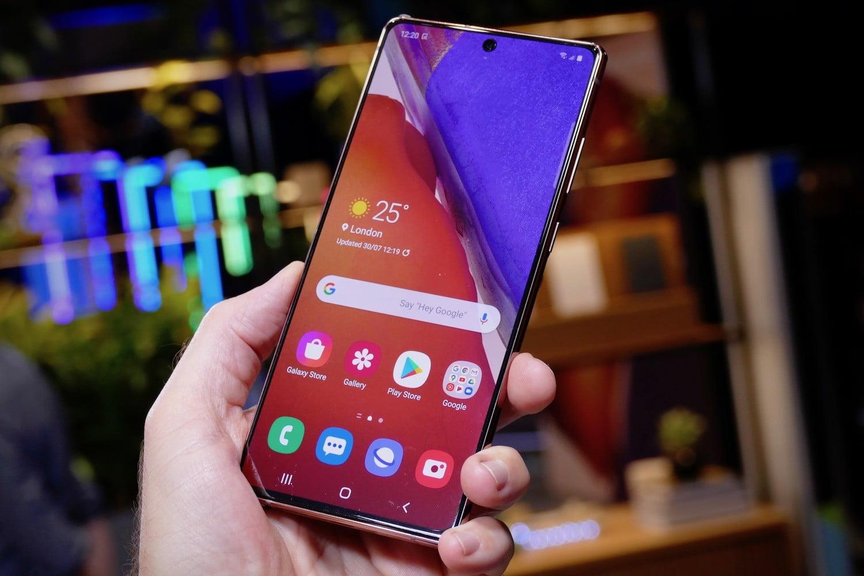 Galaxy Note 20 Screen
