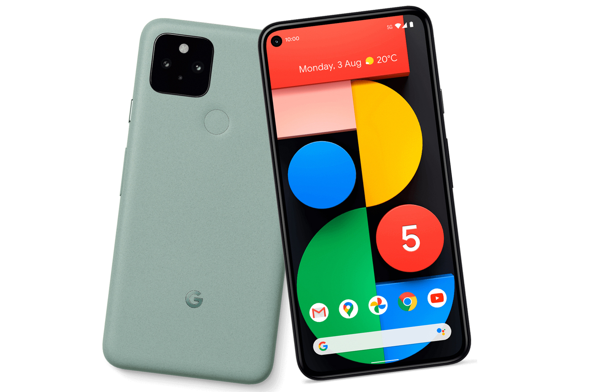 pixel 5 green leak