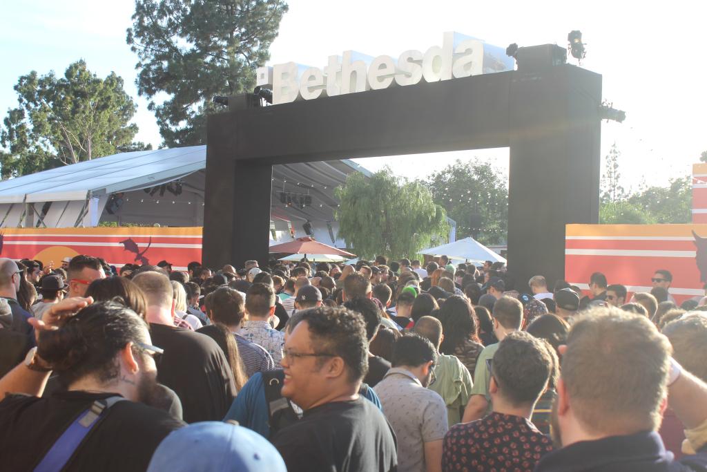 Bethesda's event at E3 2019