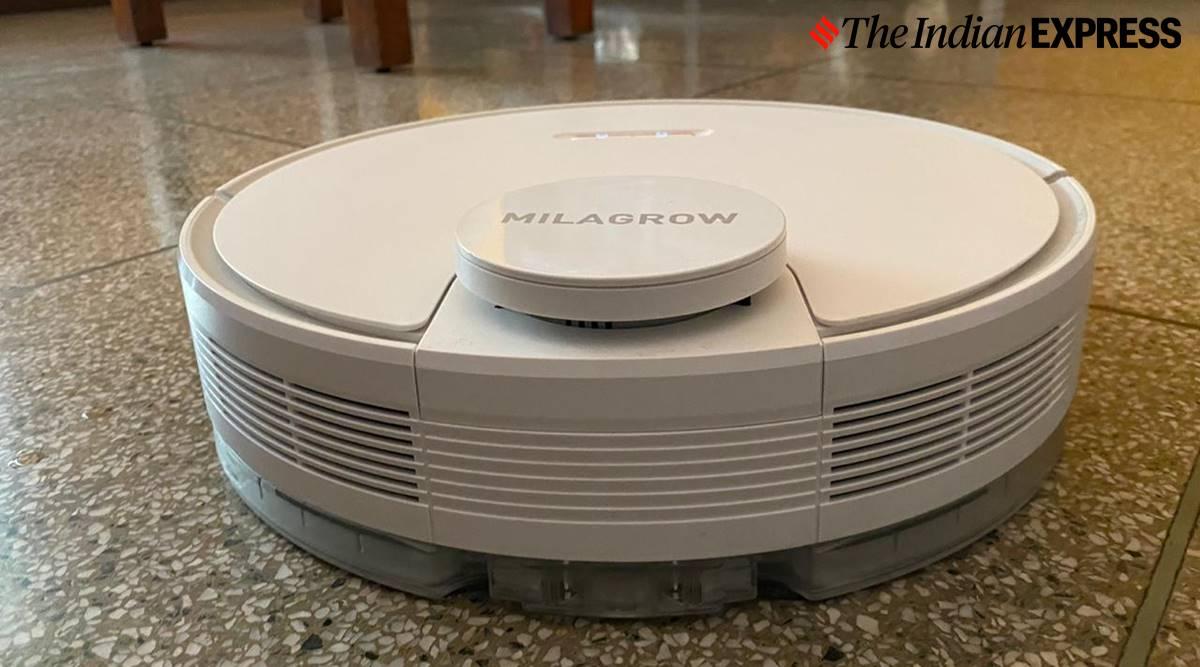 Milagrow iMap 10.0 review, milagrow imap 10 features, milagrow imap 10 cleaning, milagrow imap 10 india price, milagrow imap 10 cleaning sample