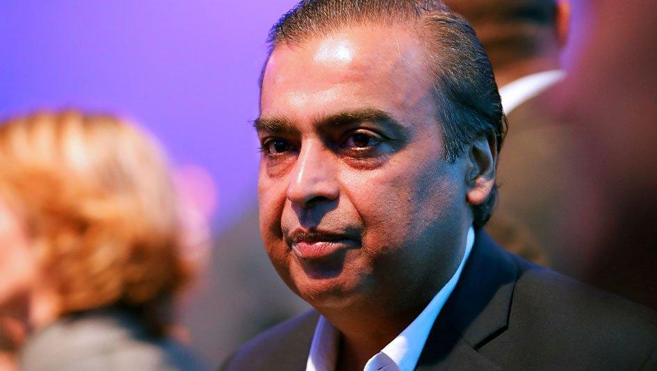 Mukesh Ambani controls Reliance Jio