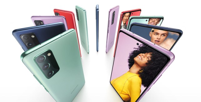 Samsung announced the Galaxy S20 FE (Samsung)