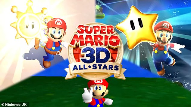 Available on Nintendo Switch, Super Mario 3D All-Stars includes optimised versions of Super Mario 64, Super Mario Sunshine, and Super Mario Galaxy