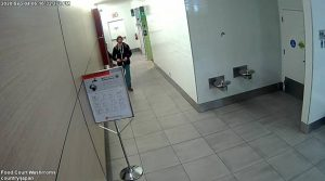 A suspect in a cell phone theft at Lambton Mall - Sept 4/20 (Photo courtesy of Sarnia Police Service)