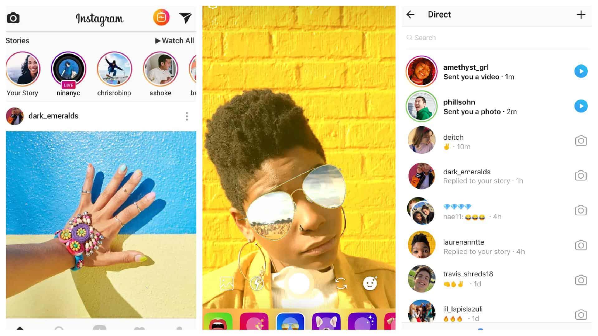 Instagram app grid 1