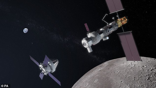 The exact details of the Lunar Gateway haven't been revealed but British firms will be involved in building habitation and service modules for the space station