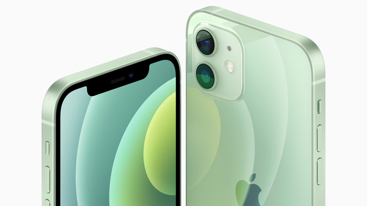 apple iphone 12 vs android green