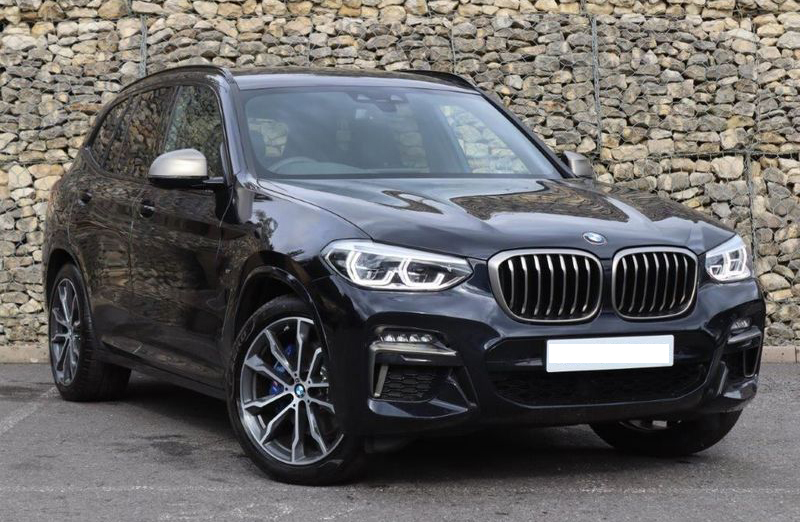 A BMW X3 was available new for £50,737, compared with £53,480 for one which had already done 3,974 miles