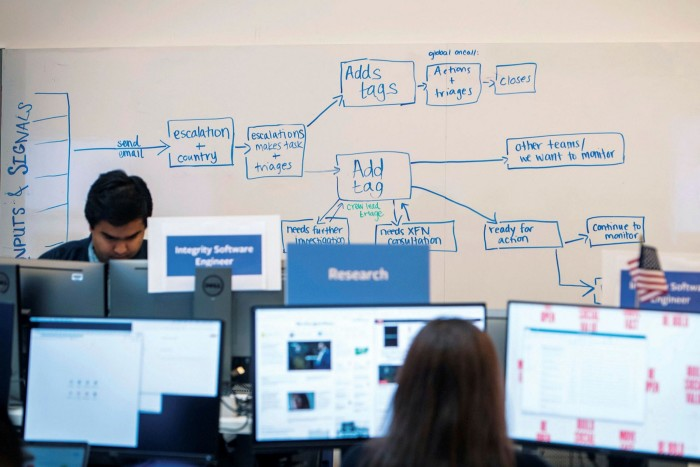 Facebook hopes its virtual war room will assuage concern about misinformation and foreign interference during the US election. Yet, critics warn its preparations have been at best, ad hoc and haphazard, and at worst insincere.