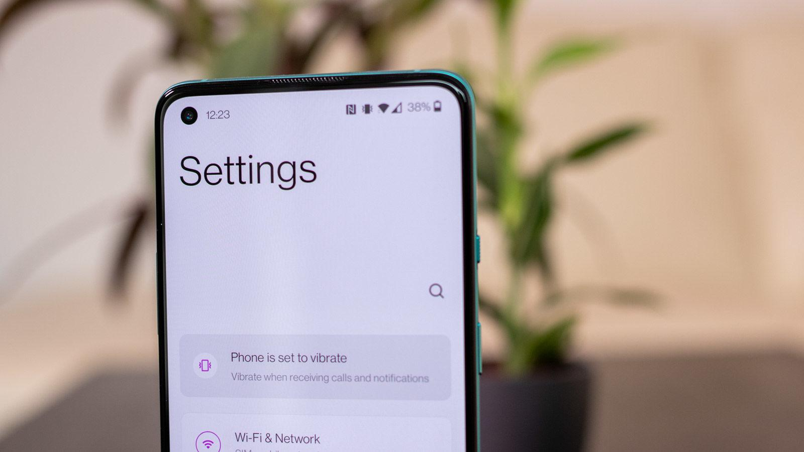 OnePlus 8T Settings