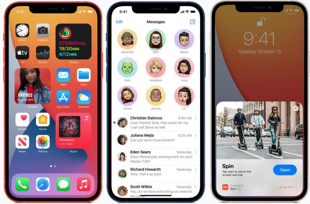 iphone 12 ios14