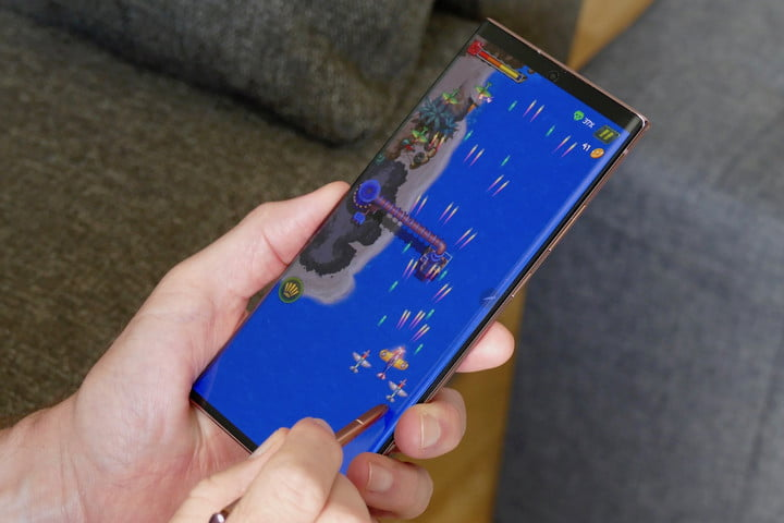 Galaxy Note 20 Ultra S Pen game