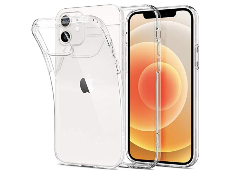 Spigen Liquid Crystal iPhone 12 case. (PHOTO: Amazon)