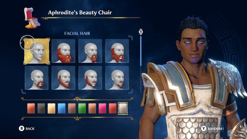 Immortals Fenyx Rising Character Creator