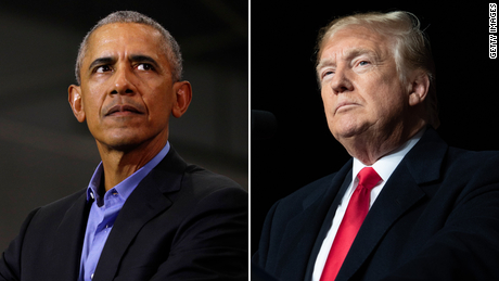 Obama delivers scathing takedown of Trump before final debate