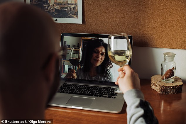 Prospective couples who met video-dating amid lockdown could find themselves disappointed when they finally meet up in the outside world, the team warned. 'Does a couple have chemistry? You can¿t tell over Zoom,' Professor Haselton said