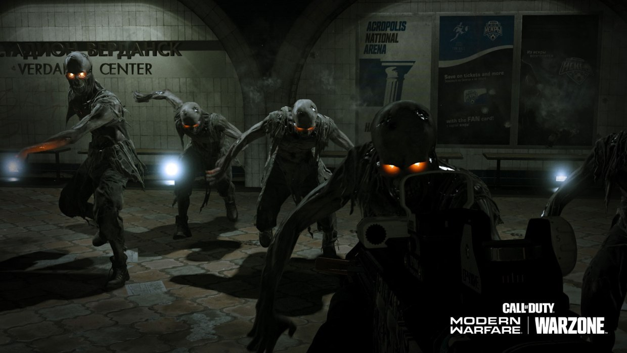 Play as a zombie and hunt down unsuspecting foes