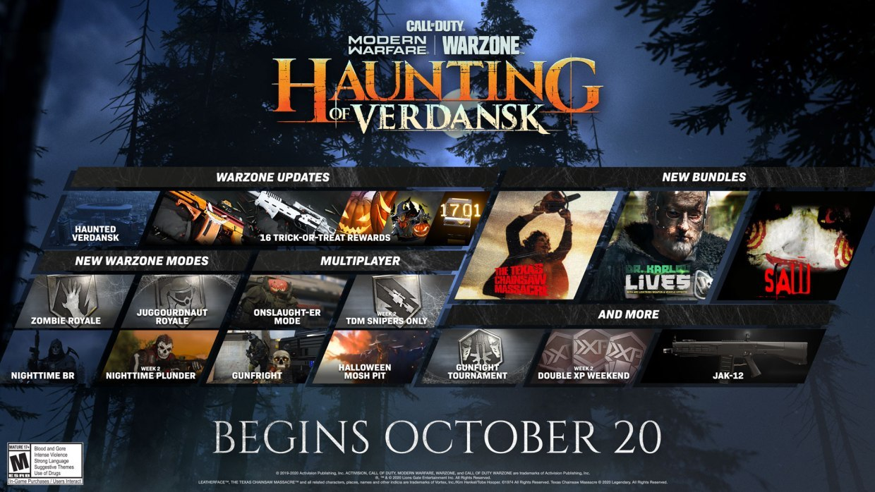There's loads of content to enjoy in The Haunting of Verdansk
