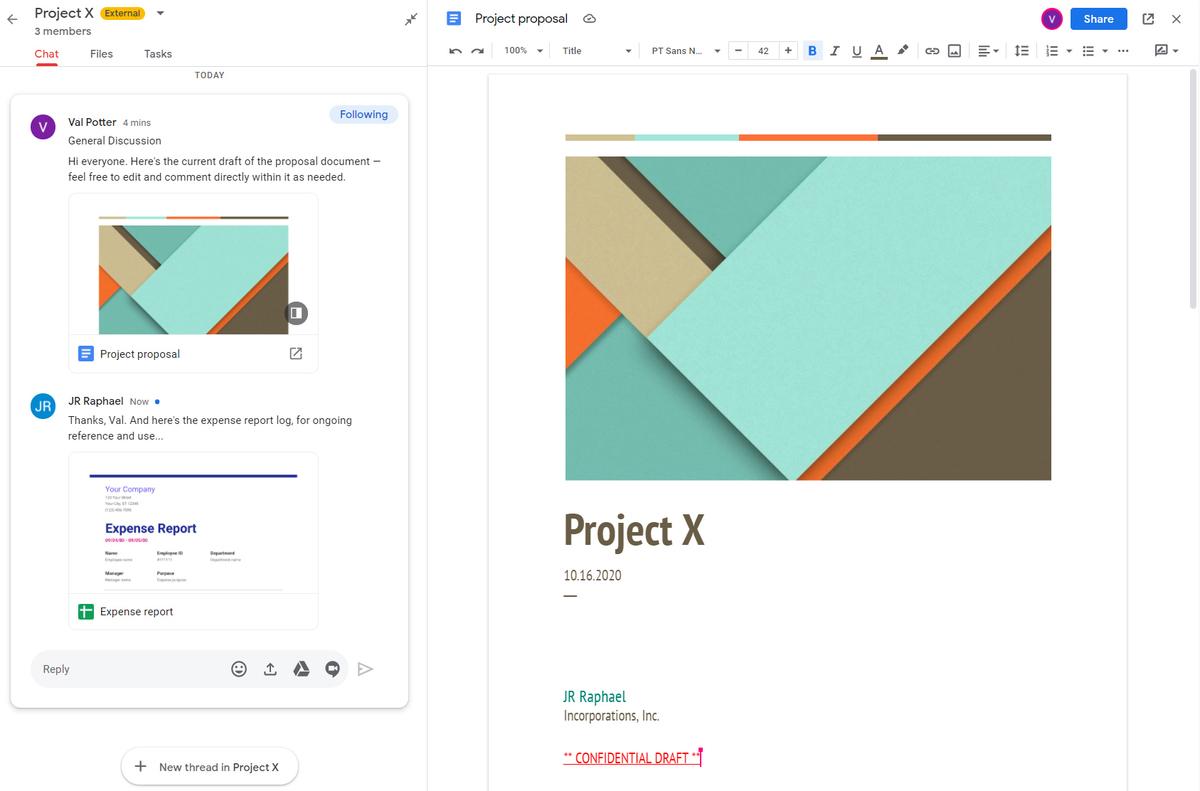 13c gmail collaboration room document edit