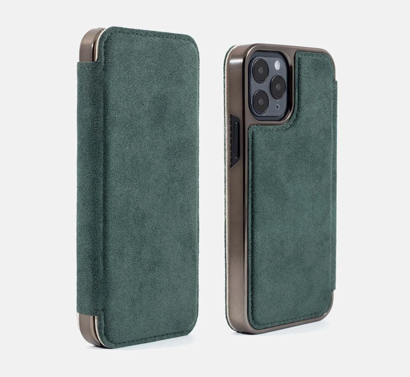 Greenwich Design Blake Alcantara iPhone 12 Case
