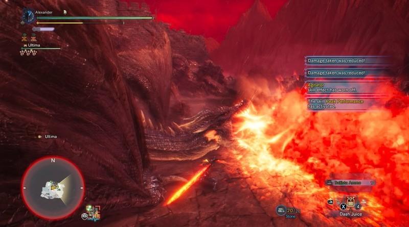 Monster Hunter World Fatalis Cone Attack
