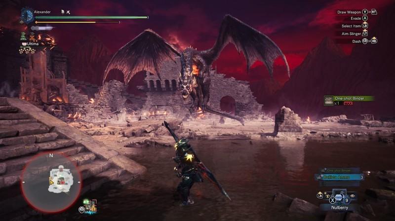 Monster Hunter World Fatalis Flying
