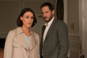 Suranne Jones and Bertie Carvel in Doctor Foster.