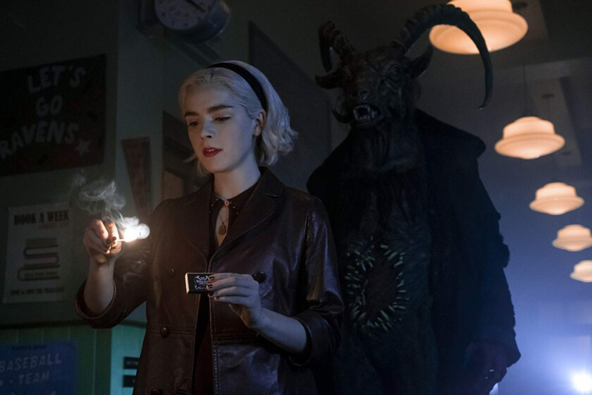 Chilling adventures of Sabrina - new to neftlix