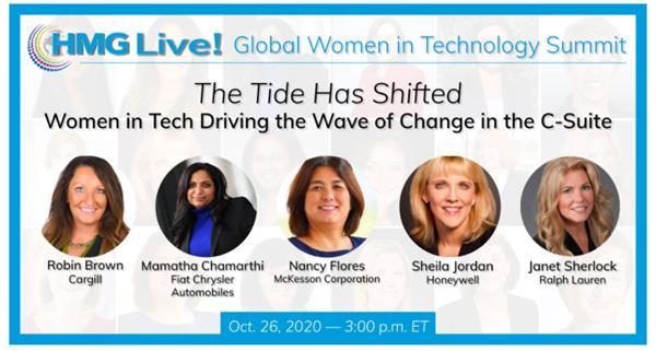 2020 HMG Live! Global Women in Technology Summit