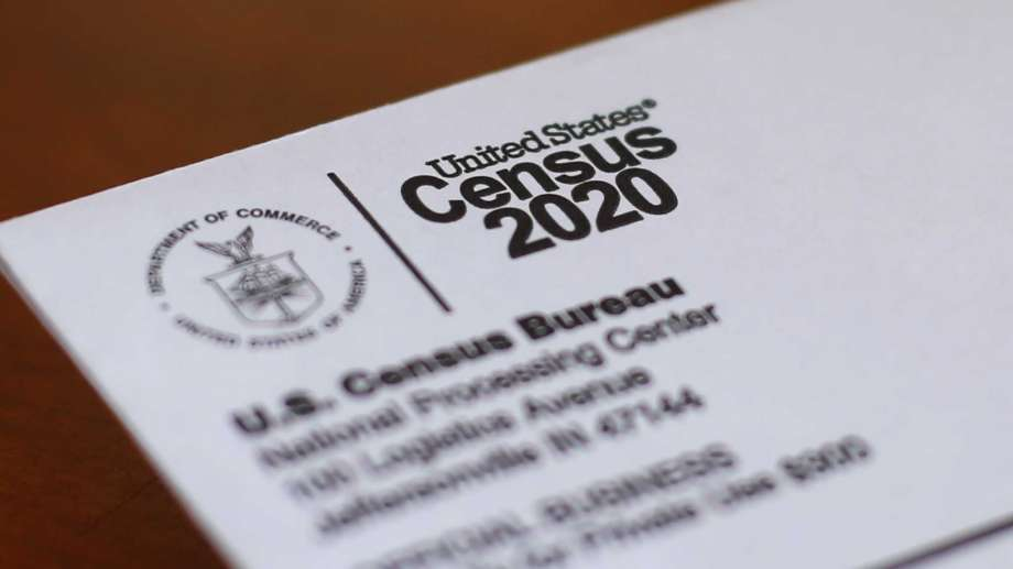 FILE - This Sunday, April 5, 2020, file photo shows an envelope containing a 2020 census letter mailed to a U.S. resident in Detroit. On Tuesday, Oct. 13, 2020, the U.S. Supreme Court stopped the once-a-decade head count of every U.S. resident from continuing through the end of October. Photo: Paul Sancya, AP / Copyright 2020 The Associated Press. All rights reserved