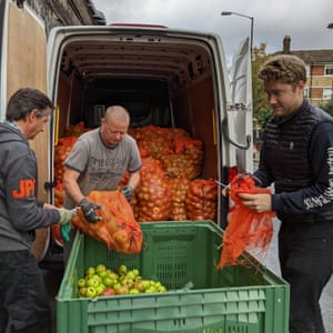 Hawkes cidery received 12 tonnes of apple donations this year.