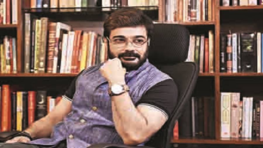 Actor Prosenjit will have a new AR filter during Durga Puja