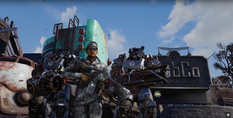Fallout 76 Steel Dawn Teaser