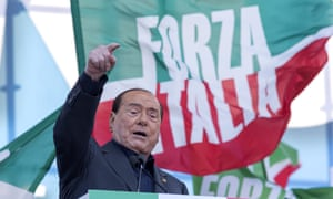 Former Italian PM Silvio Berlusconi, subject of the Bunga Bunga podcast.