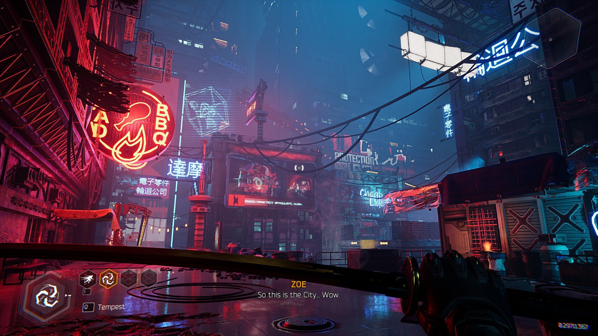 ghostrunner graphics