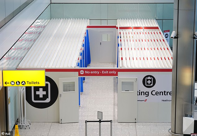 The testing centre will initially only serve flights to Hong Kong, but there are plans to expand this