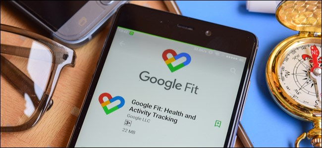 Google Fit Play Store listing