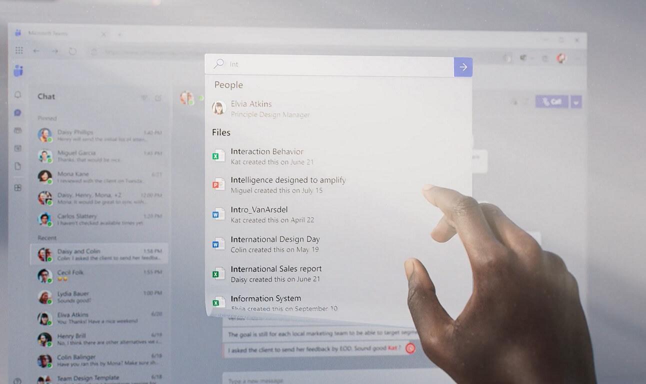 Microsoft Teams Fluent UI