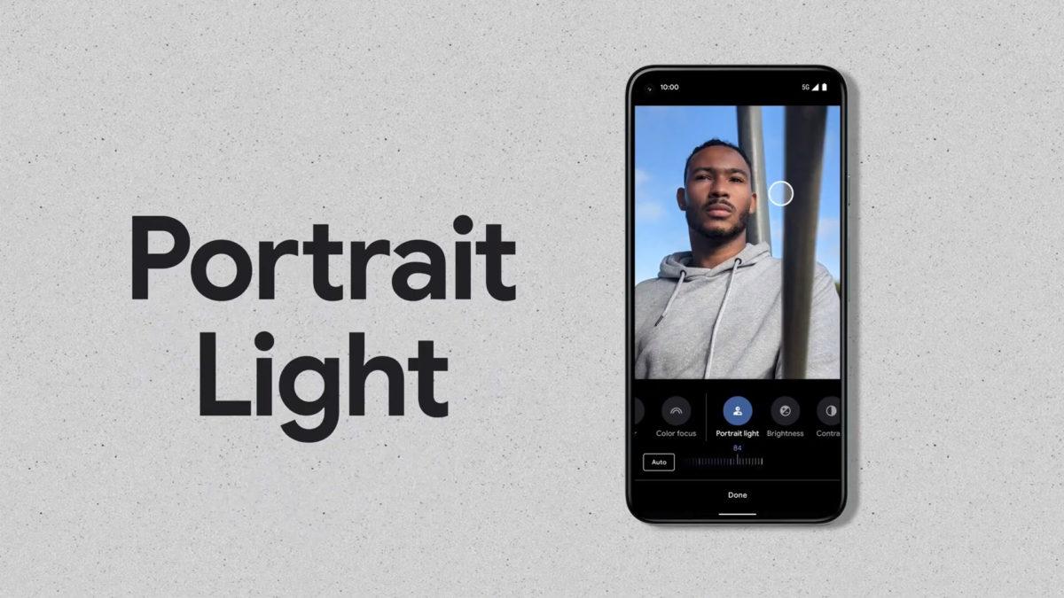 Google Pixel Portrait Light