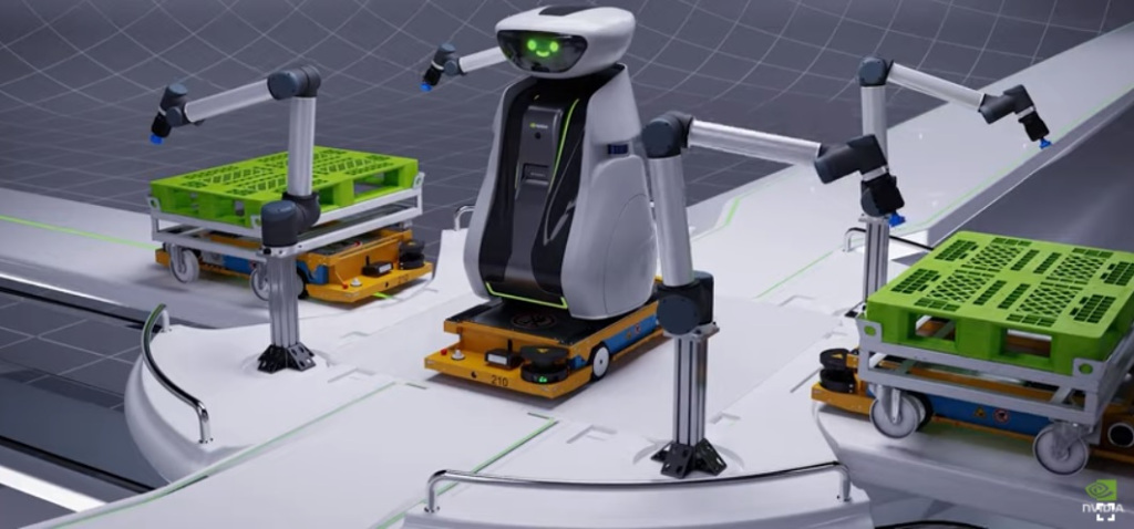 The Omniverse is where robots learn to be robots.