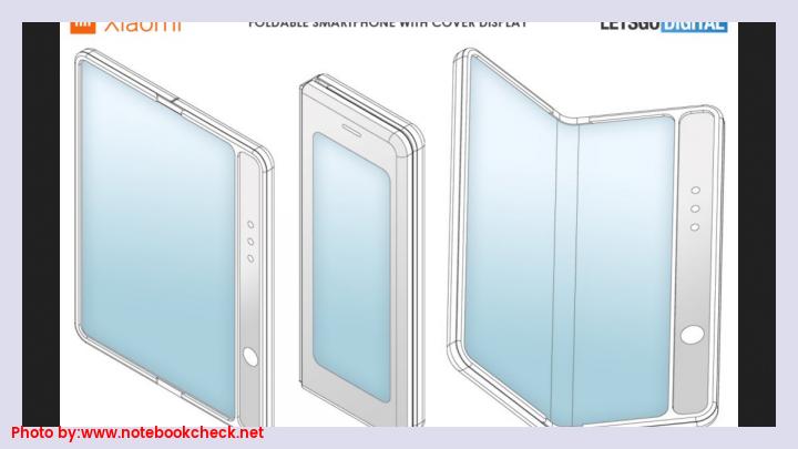 Xiaomi patents foldable smartphone similar to Galaxy Fold