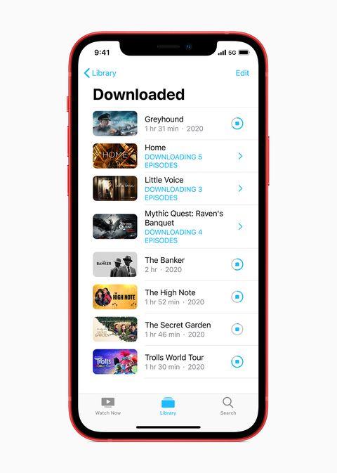 apple iphone 12 october 2020 downloads screen