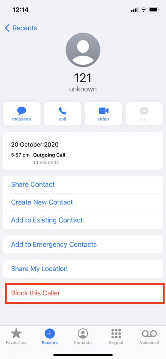 how to block calls on an apple iphone this caller