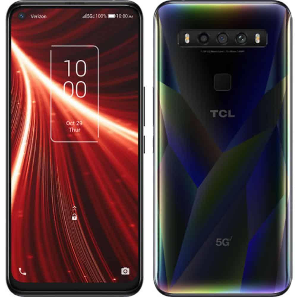 TCL 10 5G UW best 5G android smartphones actual